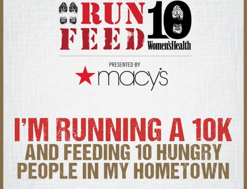 Excited to Partner with Women's Health and Women's Health RUN 10 FEED 10